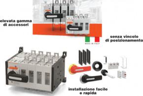 Nuovi interruttori e commutatori sezionatori