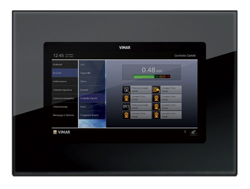 Vimar-Multimedia-video-touch-screen-Eikon-Evo