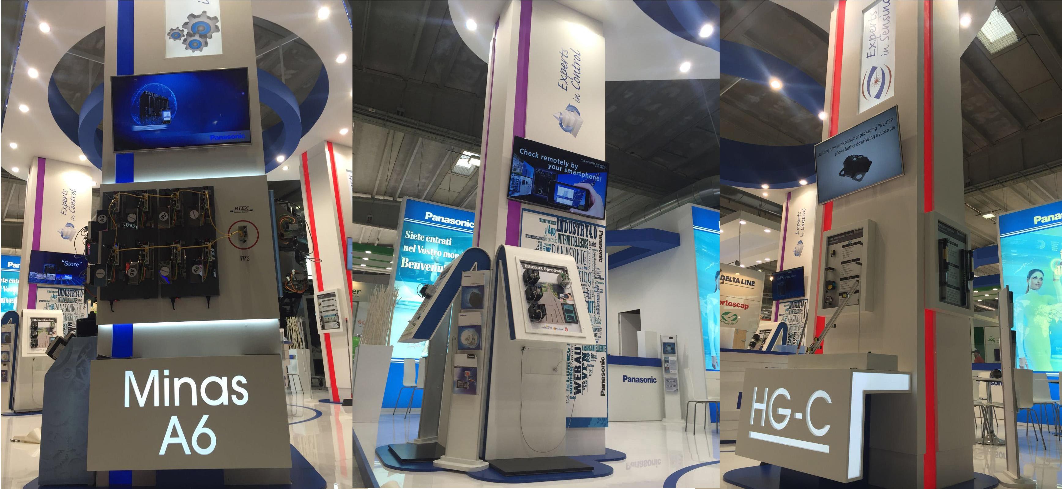colonne Panasonic SPS 2016