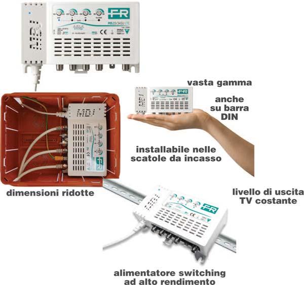 L impianto tv a portata di mano attualit elettrotecnica - Impianto audio casa incasso ...